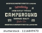 original handmade alphabet....   Shutterstock .eps vector #1116849470
