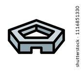 pentagon defense building | Shutterstock .eps vector #1116851330