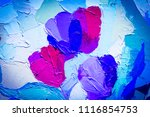 floral background. oil painting ... | Shutterstock . vector #1116854753