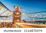 the tower bridge magnificence... | Shutterstock . vector #1116870374