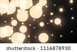 many random falling golden...   Shutterstock .eps vector #1116878930