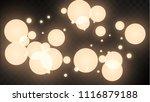 many random falling golden...   Shutterstock .eps vector #1116879188