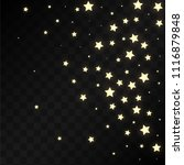 many random falling golden...   Shutterstock .eps vector #1116879848