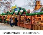 berlin  germany   december 12 ... | Shutterstock . vector #1116898073