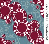 printable seamless pattern of...   Shutterstock .eps vector #1116907754