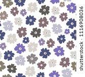 vector seamless pattern of neat ... | Shutterstock .eps vector #1116908036
