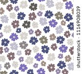 vector seamless pattern of neat ... | Shutterstock .eps vector #1116908039