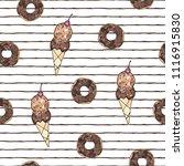vector illustration. stylized... | Shutterstock .eps vector #1116915830