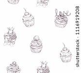 vector illustration. pencil... | Shutterstock .eps vector #1116919208