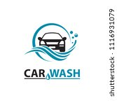 car wash service icon isolated... | Shutterstock .eps vector #1116931079