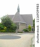 frisian church  bolsward | Shutterstock . vector #1116939983
