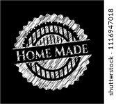 home made written on a... | Shutterstock .eps vector #1116947018