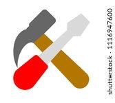 vector repair tool symbol  ... | Shutterstock .eps vector #1116947600