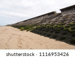 The Beach And Seawall South Of...