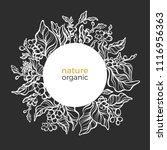 vector nature ornament in... | Shutterstock .eps vector #1116956363