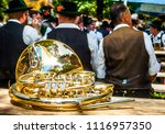 part of a typical bavarian... | Shutterstock . vector #1116957350