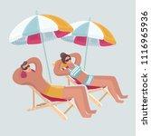 vector cartoon illustration of... | Shutterstock .eps vector #1116965936