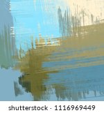 abstract painting on canvas.... | Shutterstock . vector #1116969449