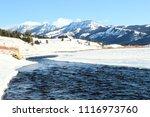 Soda Butte Creek in Winter