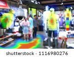 heatmap analytic in smart... | Shutterstock . vector #1116980276