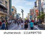 los angeles  ca  1 4 2014   the ... | Shutterstock . vector #1116989750