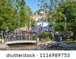 los angeles  ca  1 4 2014   the ... | Shutterstock . vector #1116989753