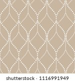 the geometric pattern with wavy ... | Shutterstock .eps vector #1116991949