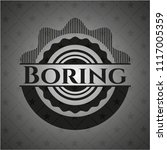boring dark emblem. retro   Shutterstock .eps vector #1117005359
