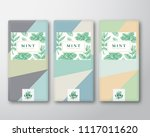 menthol chocolate abstract... | Shutterstock .eps vector #1117011620