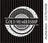 gold membership silver emblem... | Shutterstock .eps vector #1117014038