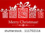 Christmas Card. Celebration...