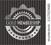 gold membership silver shiny... | Shutterstock .eps vector #1117023680