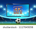 live football and soccer league ... | Shutterstock .eps vector #1117045058