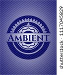 ambient with jean texture | Shutterstock .eps vector #1117045829
