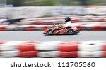 go cart racer | Shutterstock . vector #111705560