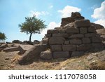 temple of athena. ruins of the... | Shutterstock . vector #1117078058