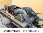 male patient at non surgical... | Shutterstock . vector #1117082813