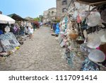 gift shop and marketplace... | Shutterstock . vector #1117091414