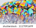 amazing colorful flashing...   Shutterstock . vector #1117091699