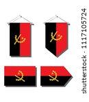 angola national flag | Shutterstock .eps vector #1117105724