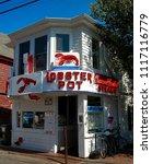 provincetown  massachusetts  ... | Shutterstock . vector #1117116779