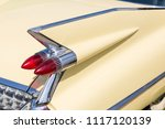 close up of tail light and rear ... | Shutterstock . vector #1117120139