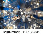 beautiful abstract yellow light ...   Shutterstock . vector #1117120334