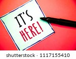 conceptual hand writing showing ... | Shutterstock . vector #1117155410