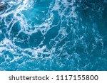 atlantic ocean with blue water... | Shutterstock . vector #1117155800