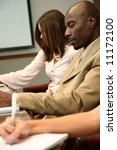 business team in an office...   Shutterstock . vector #11172100