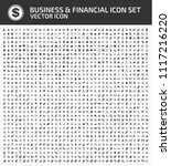 business and financial vector... | Shutterstock .eps vector #1117216220