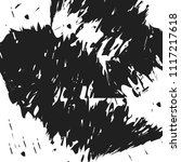 dark grunge chaotic pattern.... | Shutterstock . vector #1117217618