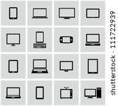electronics | Shutterstock .eps vector #111722939