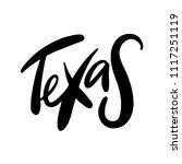 texas vintage rusty metal sign... | Shutterstock .eps vector #1117251119